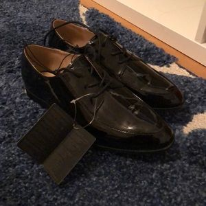 Forever 21 Black Oxford Shoes